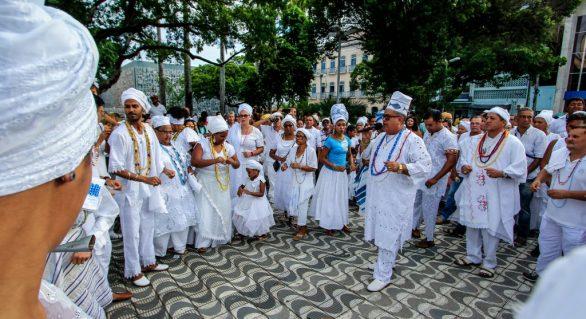 Cultura realiza Xangô Rezado Alto neste domingo