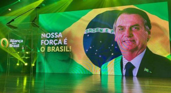 """Evento do Aliança pelo Brasil terá """"live"""" com Bolsonaro"""
