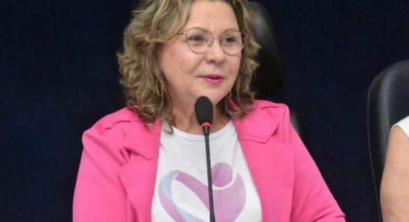 Deputada Teraza Nelma alerta para golpes no Whatsapp