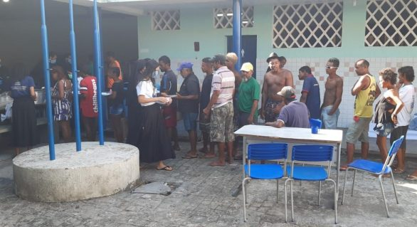 Covid-19: Moradores de rua de Maceió e Arapiraca são acolhidos