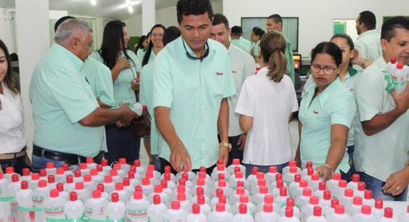 Pindorama orienta colaboradores sobre prevenção ao Coronavírus