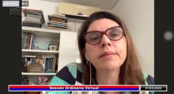 Deputada Jó Pereira solicita ao governo respostas às propostas do Parlamento