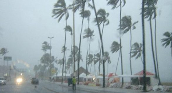 Semarh avisa que terá chuva em todo o estado neste fim de semana