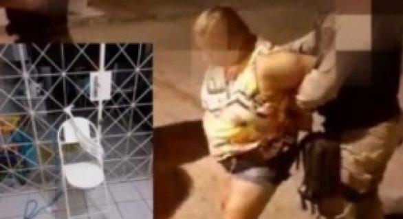 Criança é encontrada amarrada e mãe é presa por maus-tratos