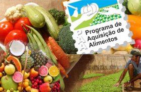 Senador anuncia liberação de R$ 500 mi para Programa de Aquisição de Alimentos