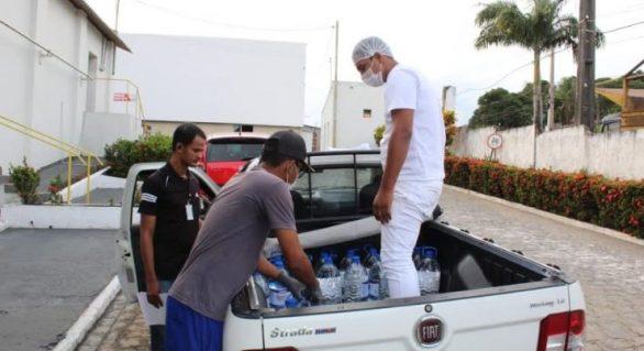 Cooperativa Pindorama doa álcool para hospital