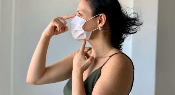 Infectologista do Hospital da Mulher oriente sobre uso adequado de máscaras