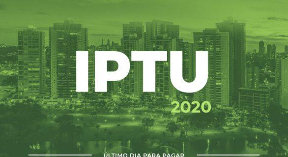 Termina hoje (20) prazo para pagamento de IPTU com até 30% de desconto