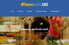 Sesc lança site para contribuir com as medidas de isolamento social