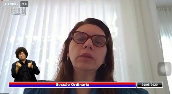 Deputada cobra diálogo, respeito e respostas do governo ao parlamento alagoano