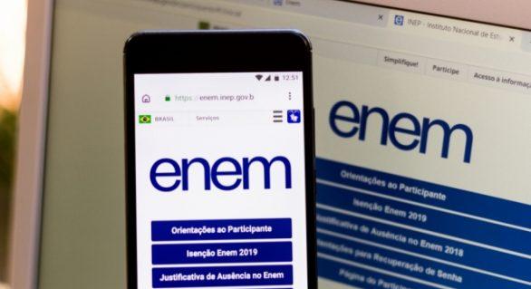 Em live, Inep diz que Enem pode ser adiado