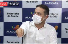Renan anuncia prorrogação de isolamento até o dia 31 de maio