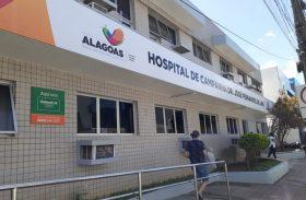 Pacientes do Hospital de Campanha de Arapiraca interagem com familiares através da tecnologia