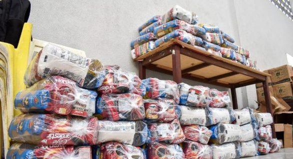 Prefeitura de Maceió continua entrega de cestas básicas até 15 de junho