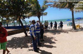 Fiscalização orienta ambulantes e permissionários na orla marítima