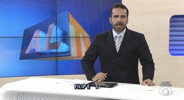 Apresentador da TV Gazeta é internado após sofrer infarto