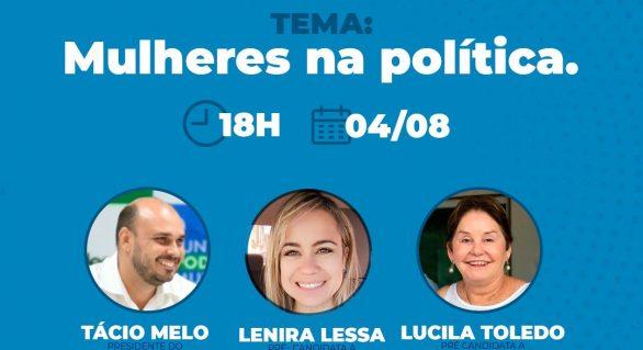 Pré-candidatos pelo Podemos Alagoas vão apresentar projetos por meio de lives