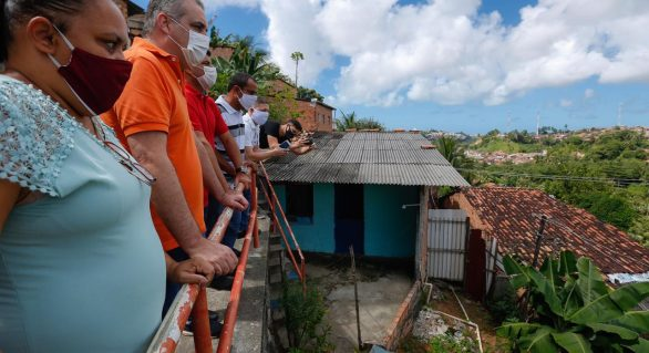 Gaspar volta a percorrer comunidades de Maceió no final de semana