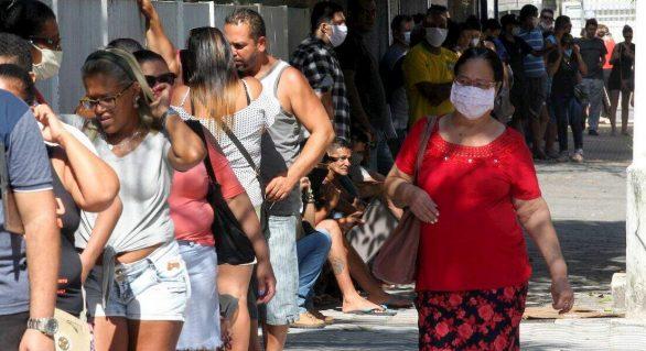 Alagoas passa de 74 mil casos confirmados da covid-19