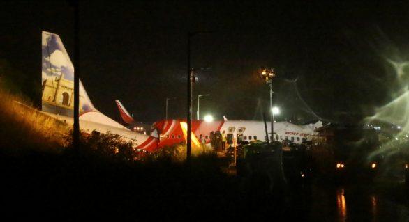 Avião que repatriava indianos cai durante pouso no aeroporto