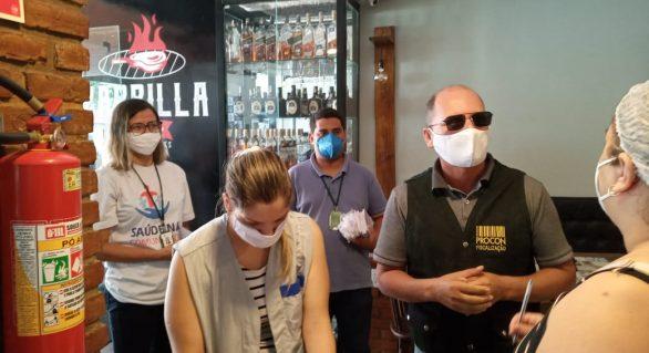 Prefeitura de Arapiraca realiza ação educativa em restaurantes, lanchonetes e bares