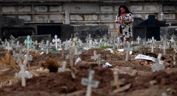 Brasil esta em 2º lugar do mundo com mais mortos pelo novo coronavírus
