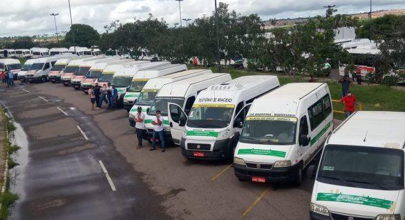 Transportes complementares paralisam serviços nesta terça-feira