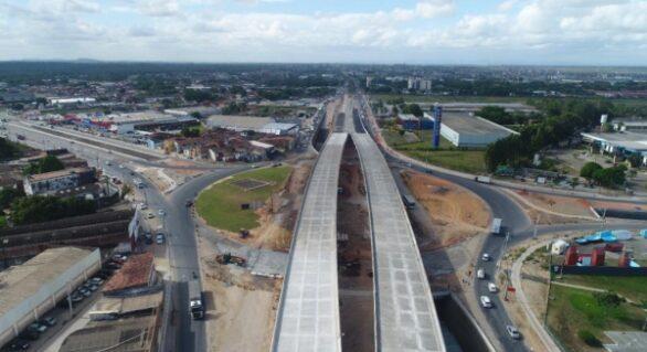 Governador anuncia fase final do viaduto da PRF