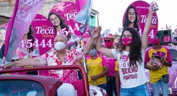 Teca Nelma se elege como a vereadora mais jovem de Maceió