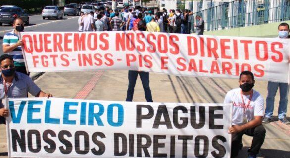 Veleiro repassará mais de R$ 200 mil a trabalhadores