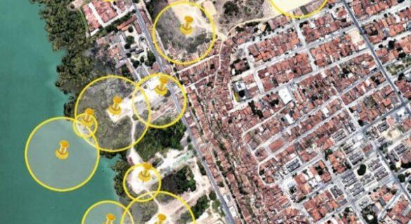 Defesa Civil alerta para risco das crateras no bairro Pinheiro