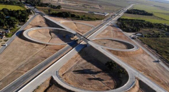 Viaduto das BRs 101 e 316 no Pilar é liberado para tráfego