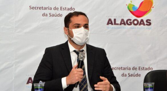 Alexandre Ayres solicita um milhão de doses da Coronavac