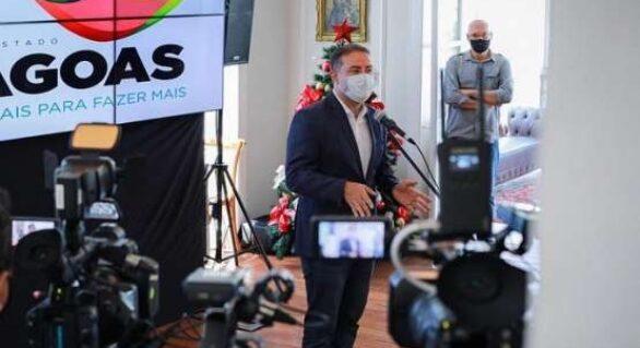 Renan Filho anuncia leilão de unidade Arapiraca da Casal em 2021