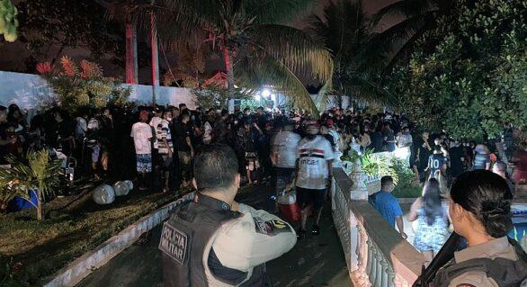Fim de semana é marcado por festas clandestinas e aglomerações em AL