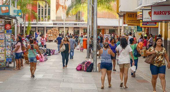 Carnaval: lojas do Centro de Maceió abrem em horário normal