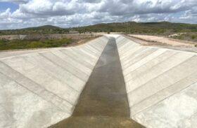 Infraestrutura realiza últimos testes para a conclusão em trecho do Canal do Sertão