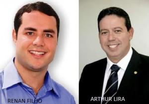 Renan Filho e Arthur Lira tem apoio da maioria dos prefeitos de AL