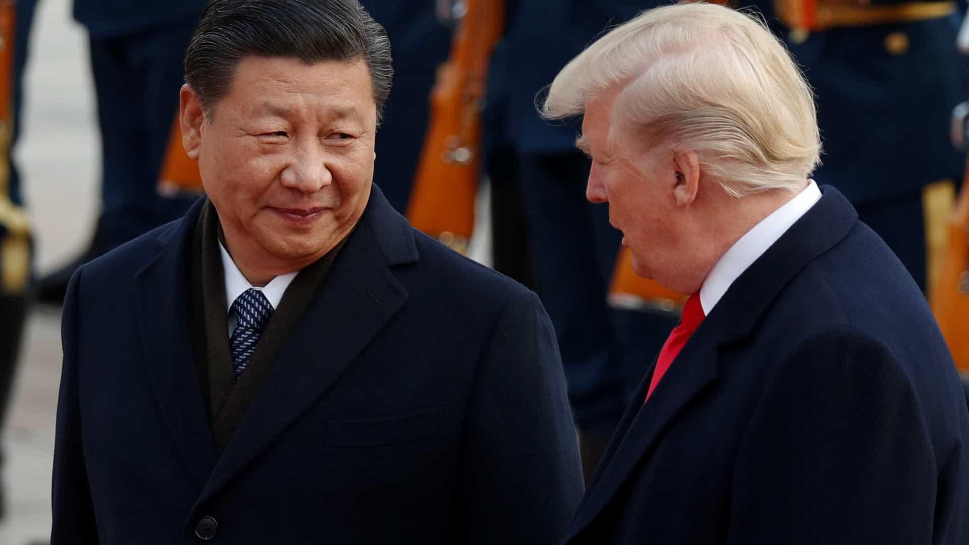 Trump e Xi falam em cooperação contra o coronavírus