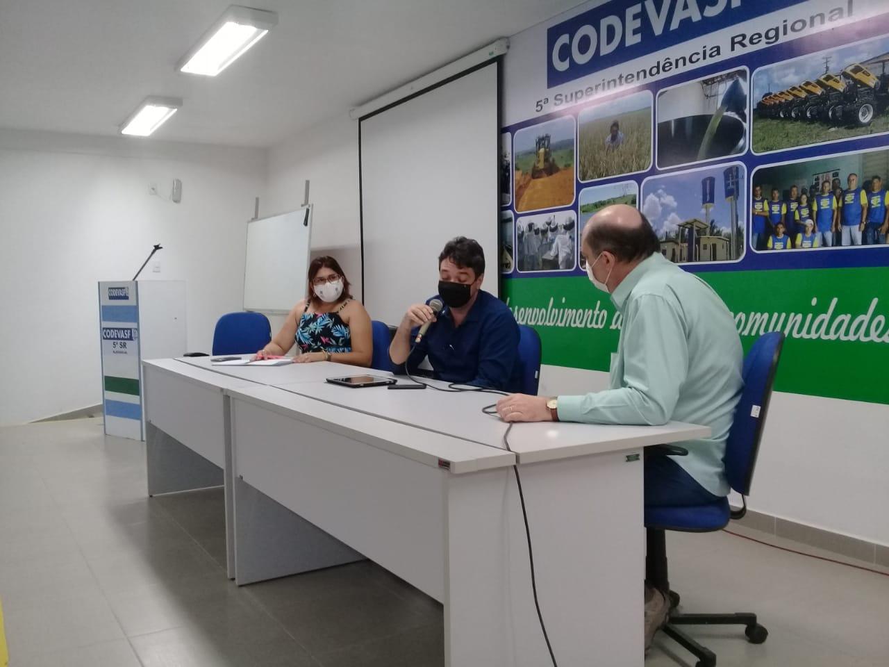Codevasf e Ufal indicam parceria para projetos técnico-científicos