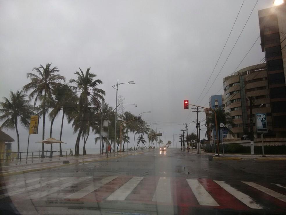 Chuvas seguem em toda Alagoas neste final de semana