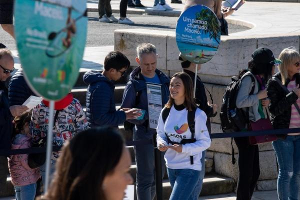 Portugal recebe ações de mídia do Destino Alagoas