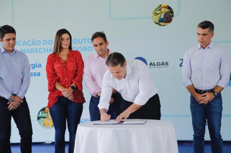 Duplicação de gasoduto garante competitividade ao Polo Multissetorial José Aprígio Vilela