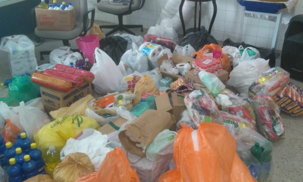 Reeducandos de Alagoas recebem doações da Pastoral Carcerária