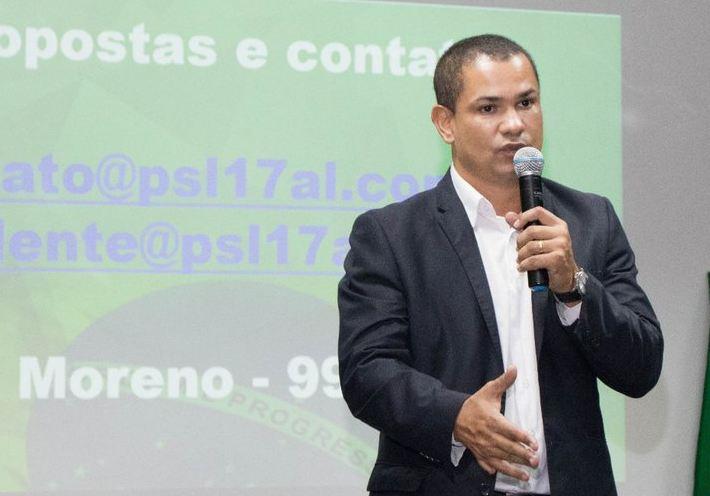 Flávio Moreno mantém pré-candidatura a prefeito de Maceió