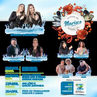 Roteiro realiza o Festival do Marisco 2019