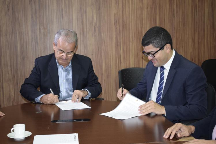 TCE/AL e Seplag firmam parceria para desenvolvimento de tecnologias