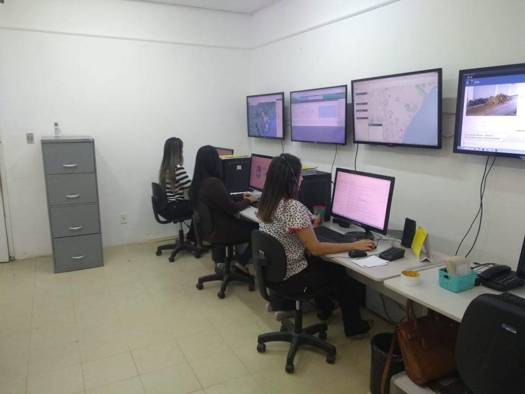 Central de Limpeza recebe demandas da população e monitora atendimento