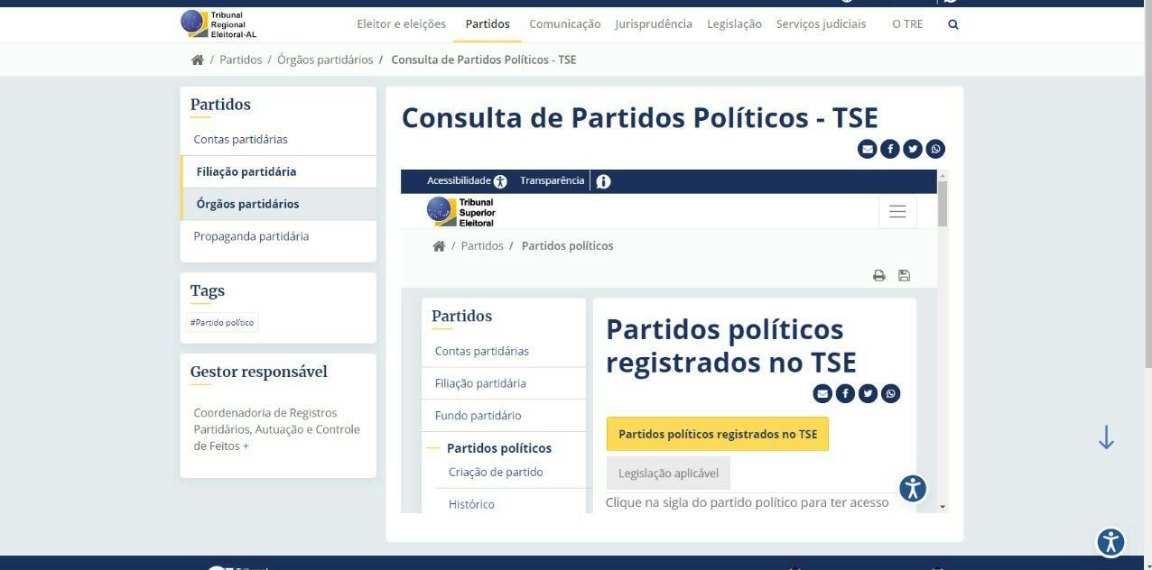 Oito partidos estão sem diretório em Alagoas