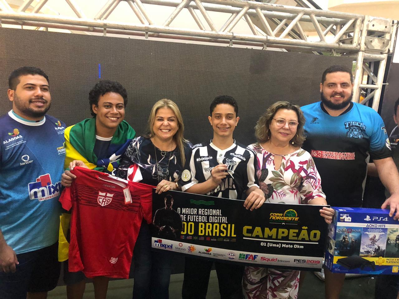 Maceió sedia pela primeira vez a Copa Nordeste de Futebol Digital